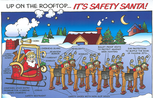"""Safety Comics Of The Day - Santa Style 2018 - Have a ..."