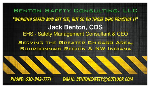 Benton Safety Full Front