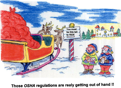 Strangling Santa (and Everyone Else) with Regulation and ...