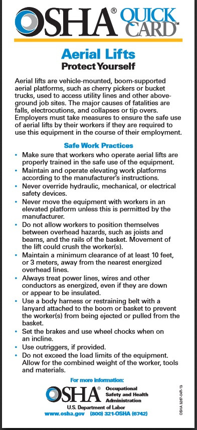 Osha electrical safety pdf