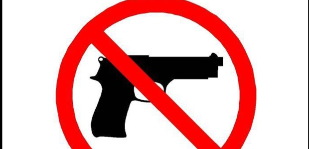 No Concealed Carry Signs