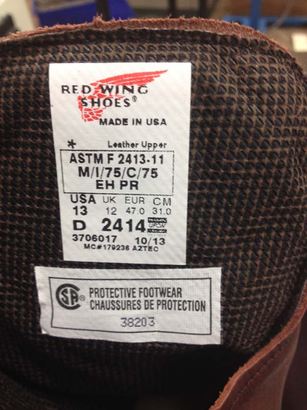 Red Wing Shoes Recalls 105 000 Pairs Of Steel Toe Work