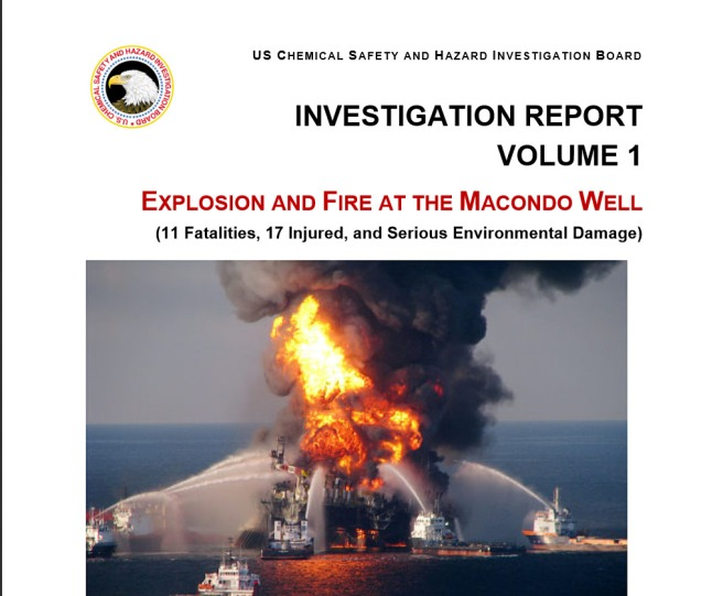 DWH Mercondo Well CSB Investigation