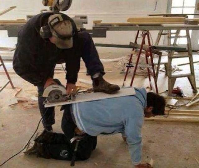Safety Photo of the Day - Power Hand Tool Safety