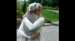 WATCH: Dog nearly passes out after being reunited with family member after 2 years