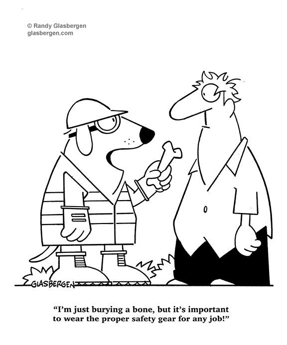 Dog PPE Comic