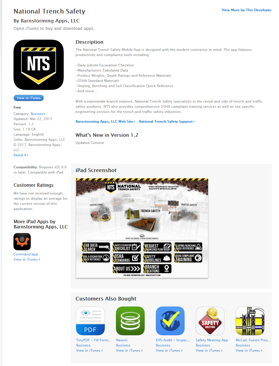 National Trench Safety Releases Mobile App For The Excavation Industry Ehs Safety News America