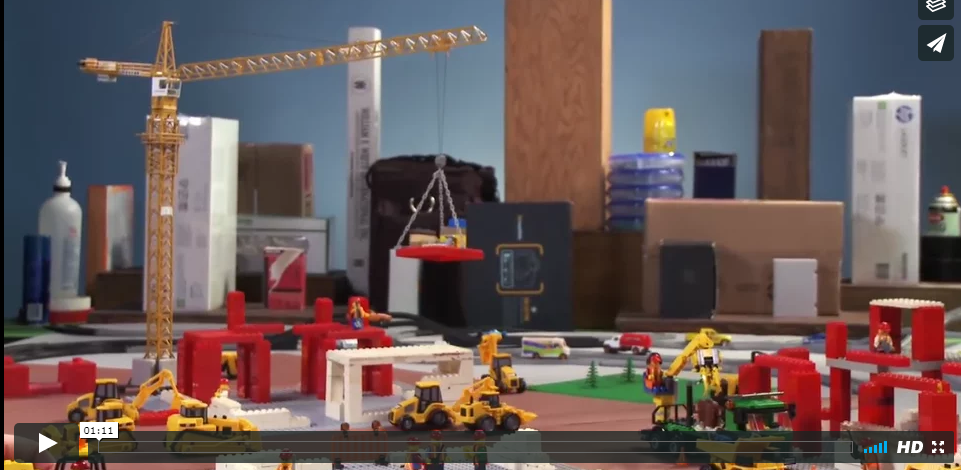 First Lego Safety Video – Don't Get Struck By Mobile Equipment
