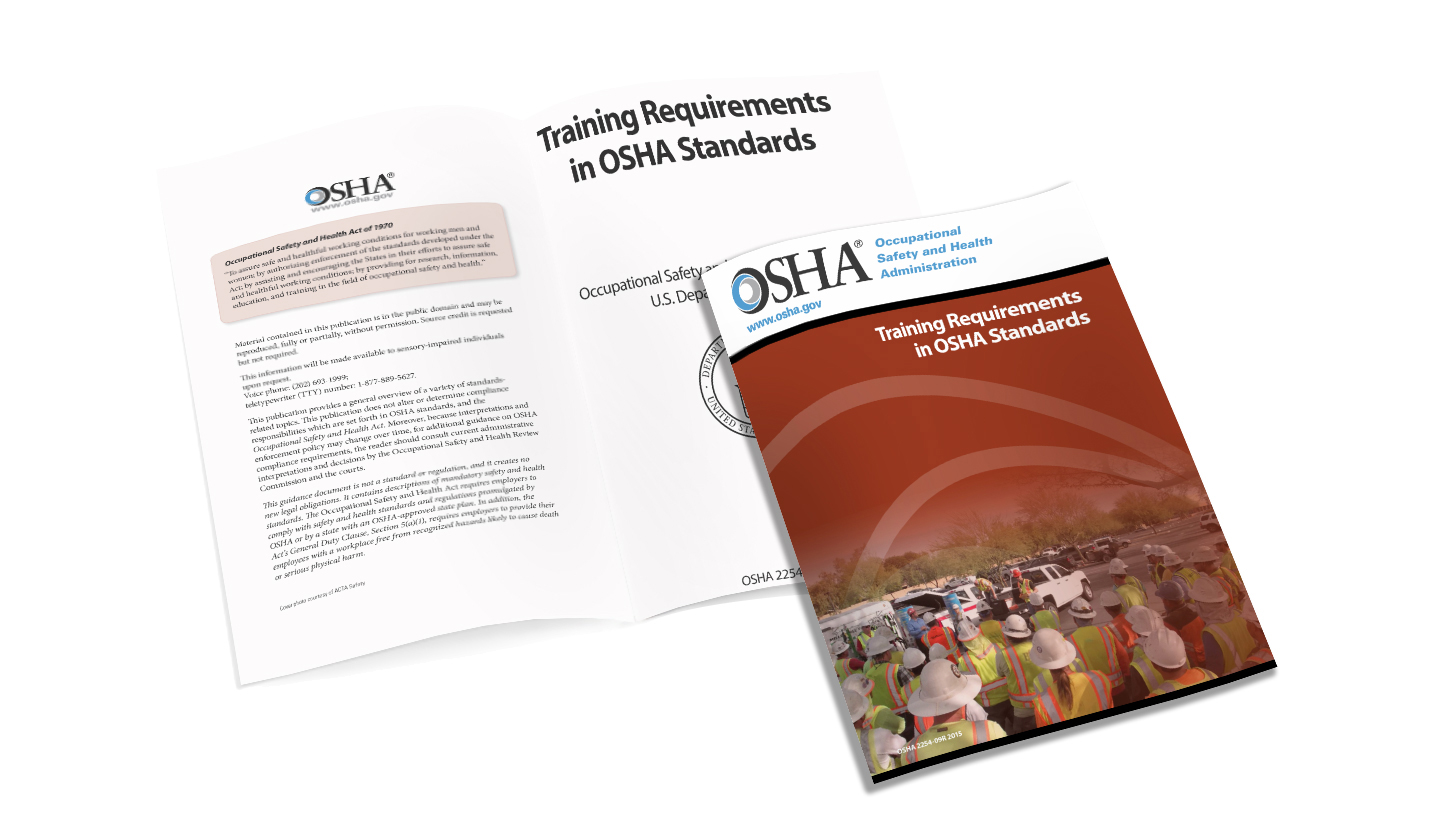 """Free OSHA Safety Training Requirements Handbook"" #Safety #Training"