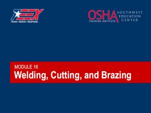 OSHA Welding