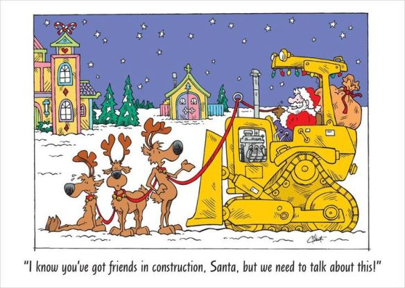 Merry Christmas 2020 Construction Safety Comics Of The Day – Santa Style 2018 – Have a Merry