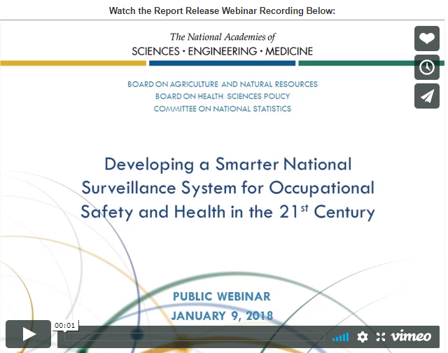 Updating National Workplace Injury Illness Data Information Urgently Needed WorkplaceSafety